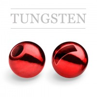 COMPETITION TUNGSTEN BEAD SLOT PLUS METALLIC RED