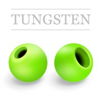 BRASS BEAD FLUO CHARTREUSE
